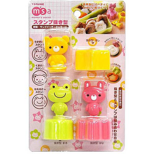 TORUNE日本料理模具塑料吐司模具