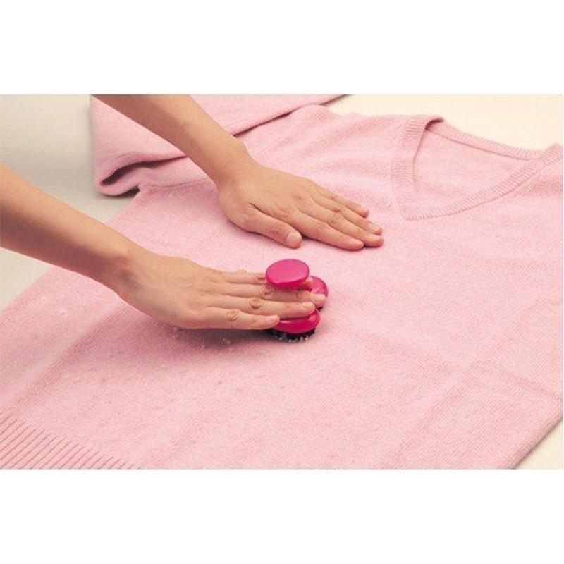 AIWA日本心型去毛球刷可用水清洗