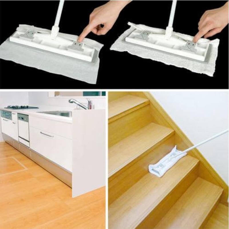 AZUMA日本抹布纸巾双用的刮水托把