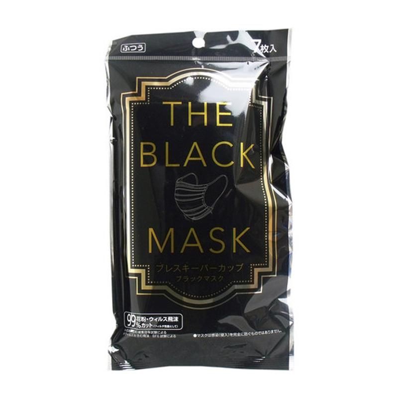 YOKAI日本时尚黑色口罩7个装