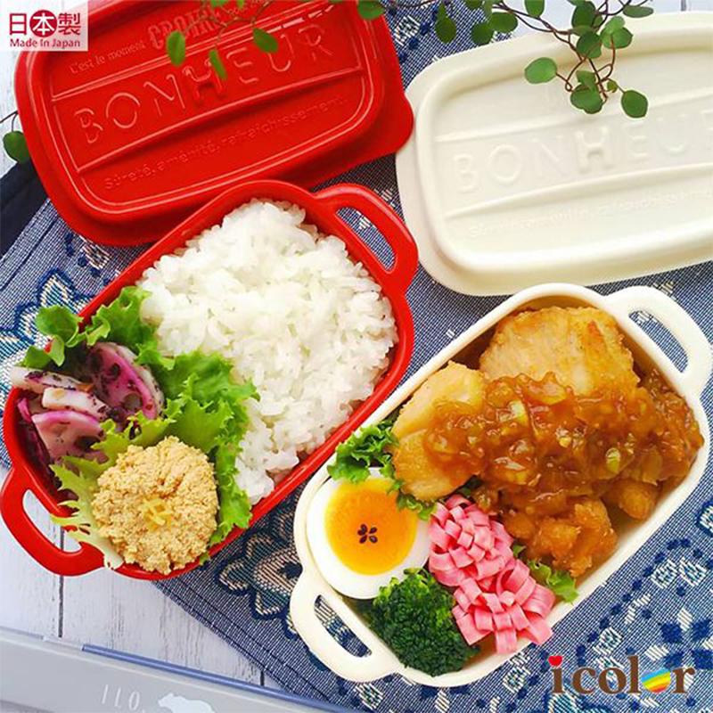 YAMADA日本进口食物收纳盒厨房冰箱保鲜盒水果盒塑料辅食盒便当盒  LL