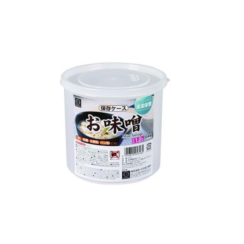 ✪【控价】KOKUBO日本冰箱保鲜罐 坚果防潮罐 干物收纳盒  小号 1200ml