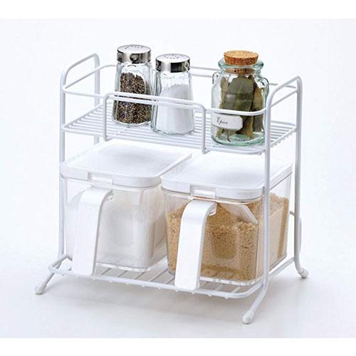 ❖PEARL日本调味瓶收纳架  调料置物架  厨房收纳架