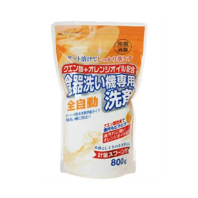 ROCKET日本洗碗机专用柠檬酸粉末洗涤剂(800g)