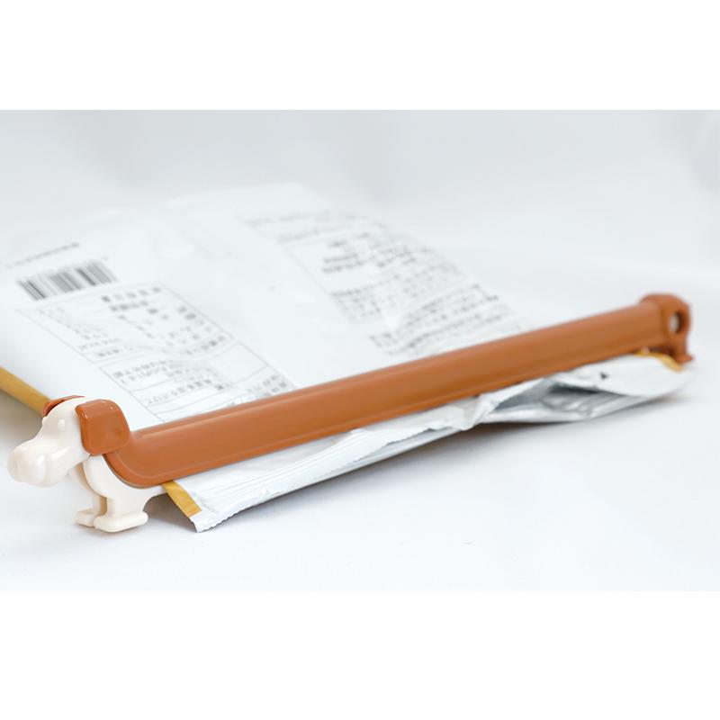 ❖IHARA日本袋子封口夹  密封夹子 食物保鲜夹  (可爱狗)