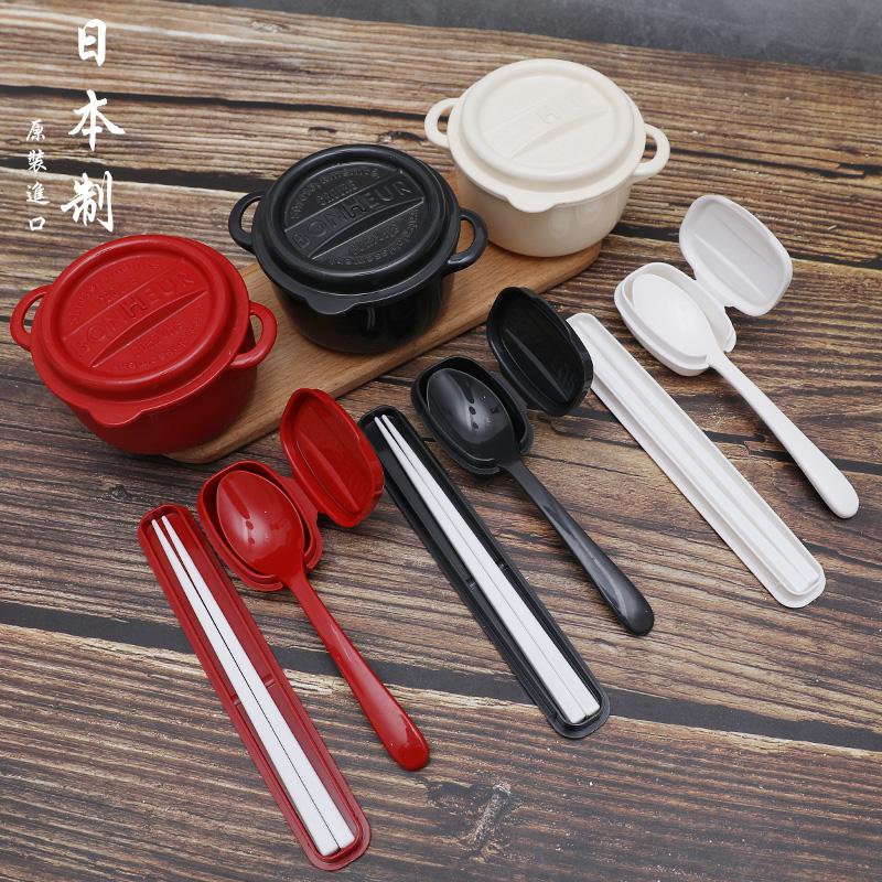 YAMADA日本陶瓷风格筷子套件3色混装塑料筷子