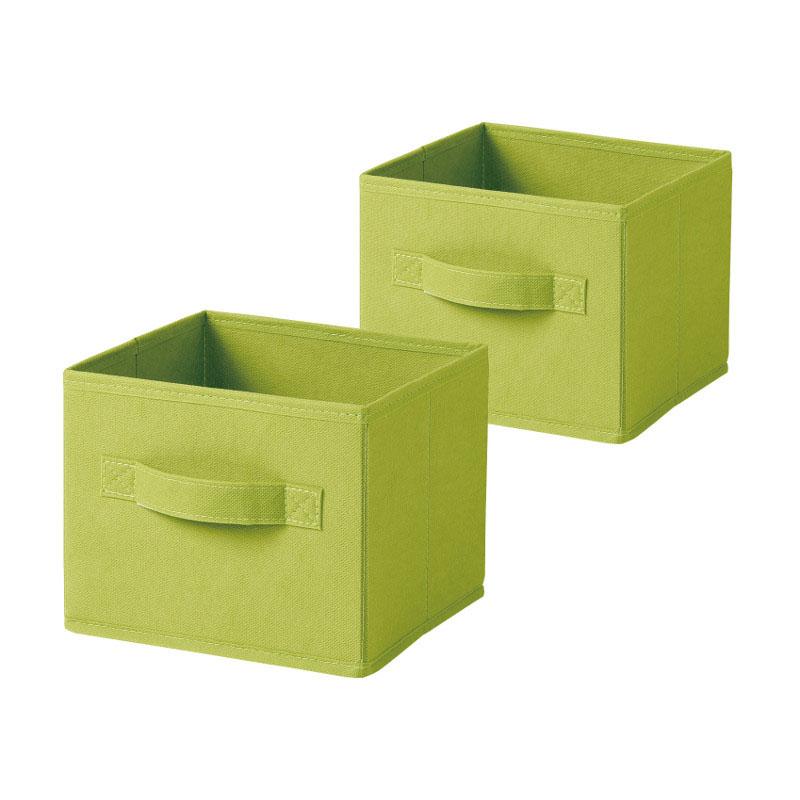 KOKUBO日本储物箱立方体型小2件装