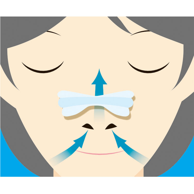 KOKUBO日本改善呼吸贴防呼噜贴标准20片装