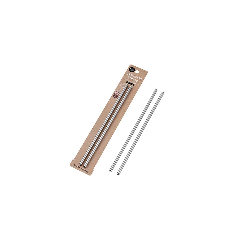 ECHO日本不锈钢吸管2P(直式)