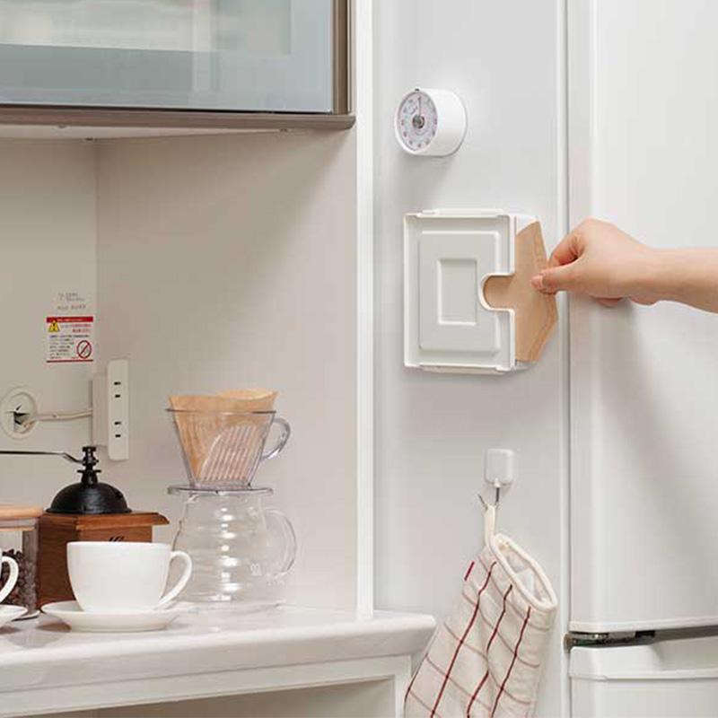 INOMATA日本咖啡滤纸收纳盒冰箱贴