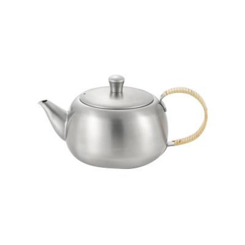 YOSHIKAWA日本不锈钢茶壶 横把手0.5L