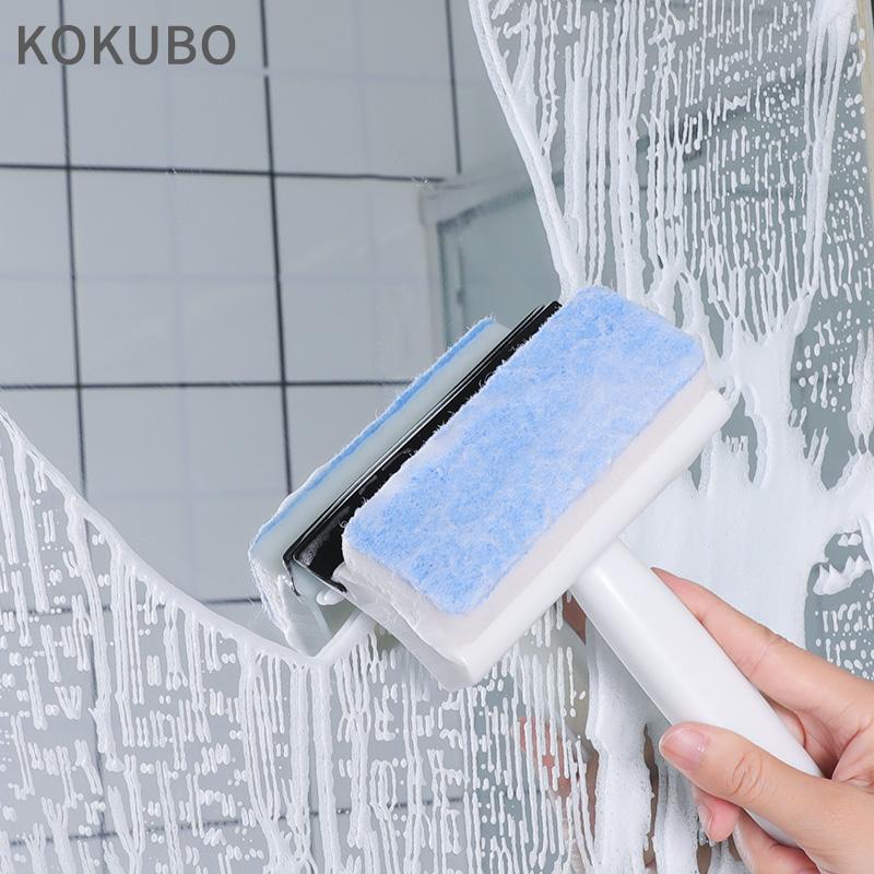 【控价】KOKUBO日本瓷砖玻璃刷 玻璃刮水器  雨刮器 两用版瓷砖清洁刷