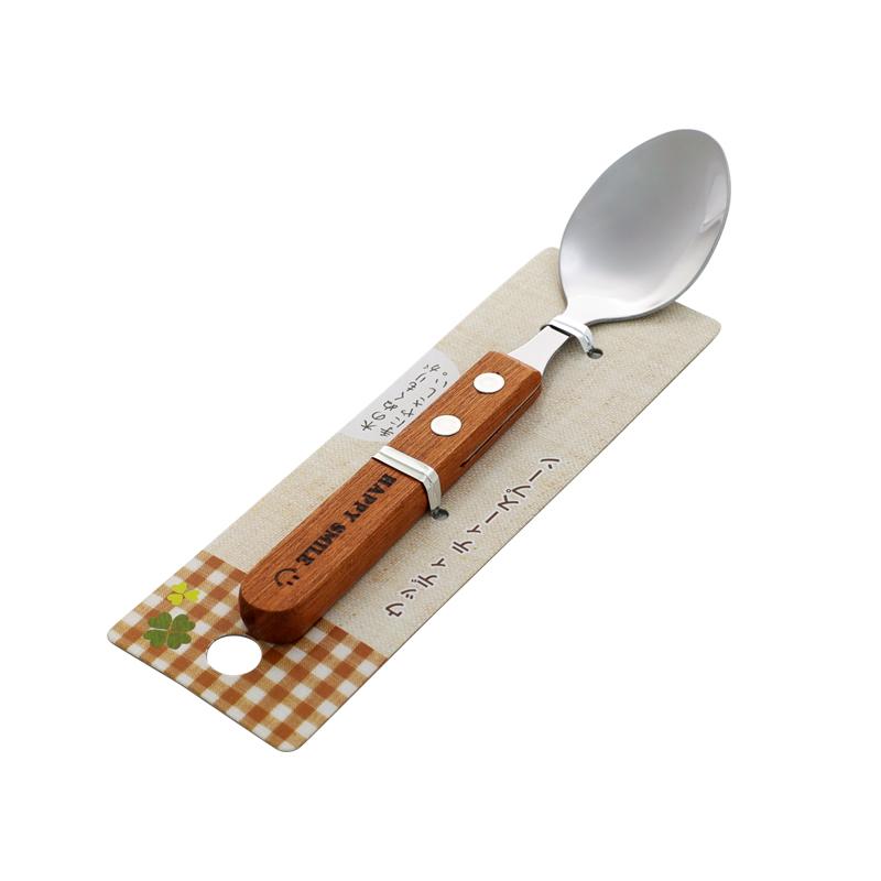 ECHO日本甜点小勺不锈钢勺子