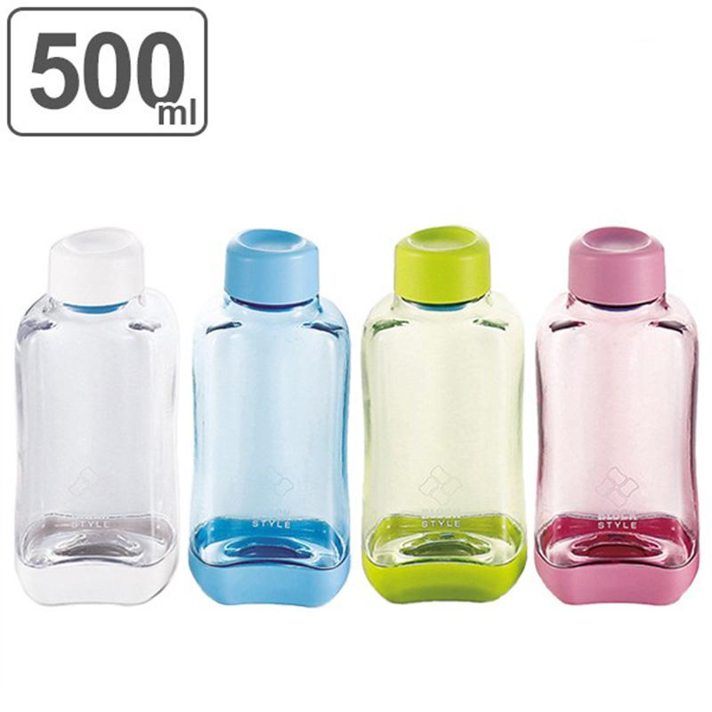 PEARL日本时尚长方块式PC透明水瓶500ML