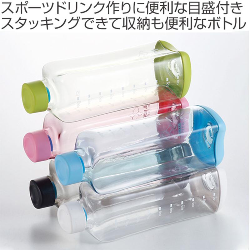 PEARL日本时尚长方块式PC透明水瓶700