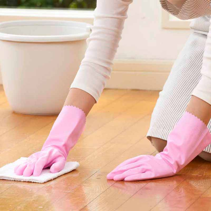 SHOWA 日本丝滑手感型中厚家用手套M新款(8月上新)(代替款  4901792026413)