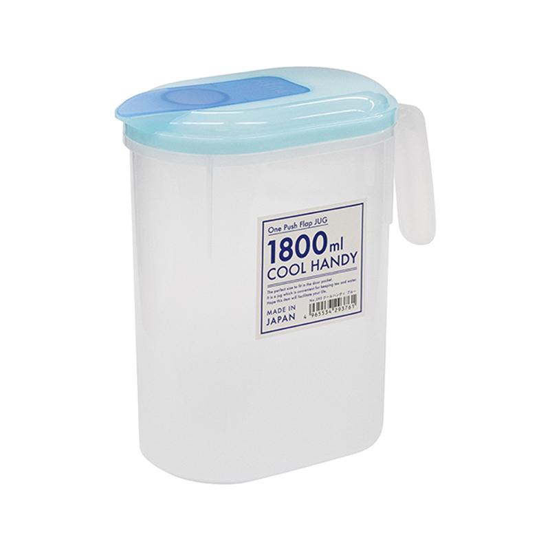 Yamada日本水壺1.8L塑料水壺(產品價格有所下調  0420) 藍色款