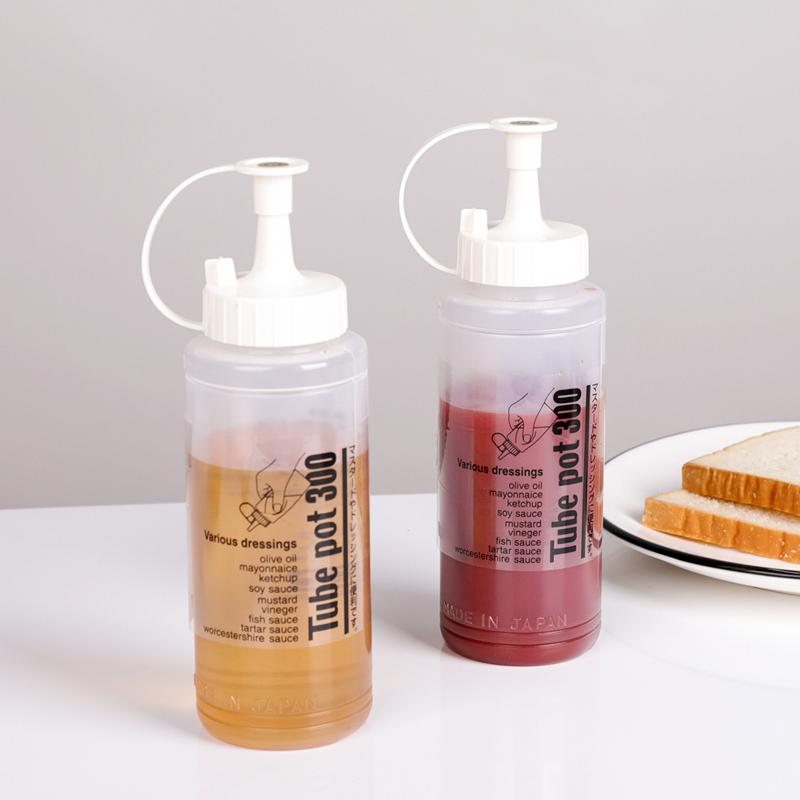 SANADA日本酱料瓶340ml塑料调味瓶