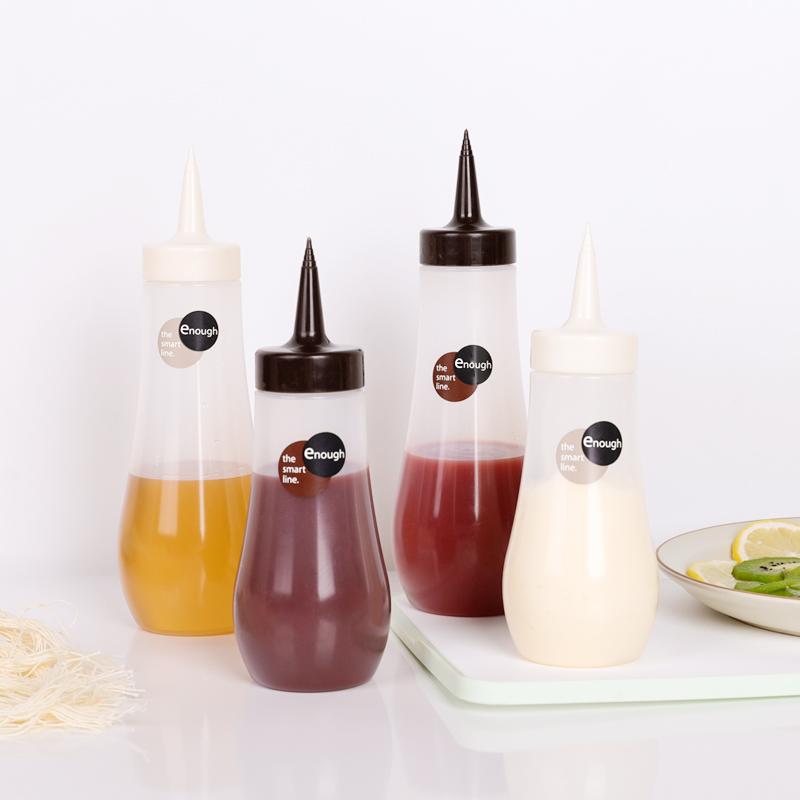 INOMATA日本尖头调味瓶小号塑料调味瓶