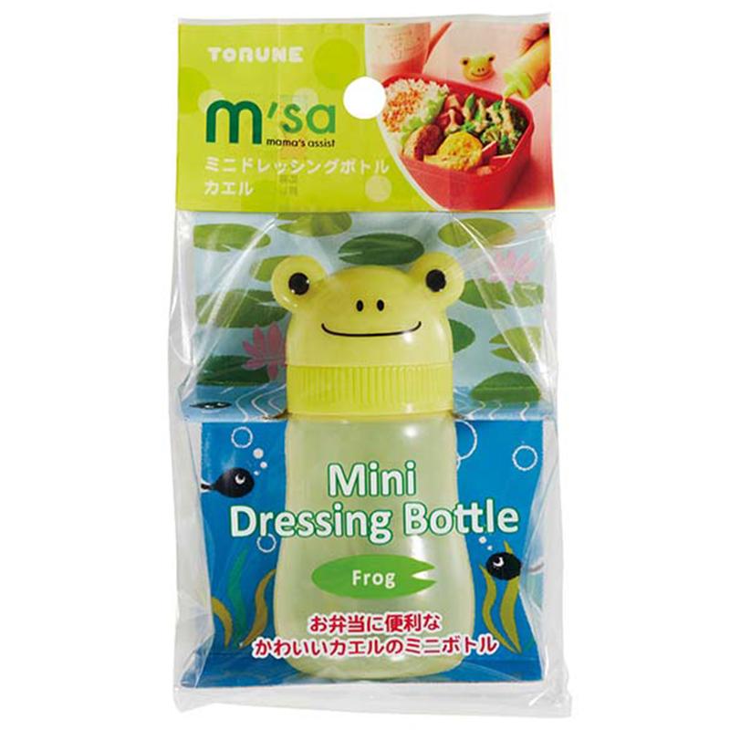 TORUNE日本小蛙迷你瓶塑料調料瓶