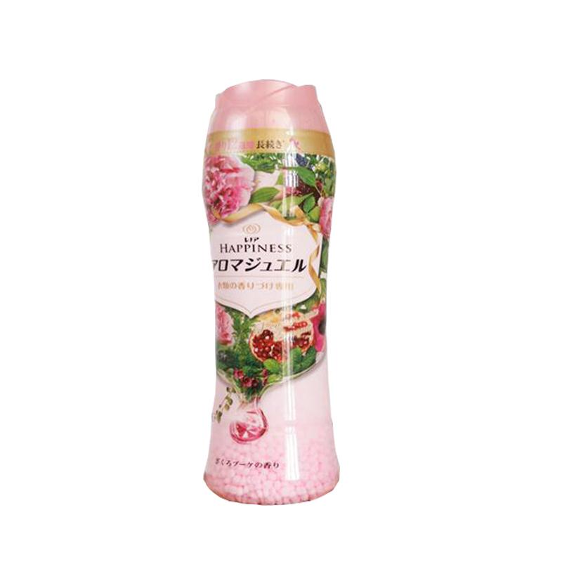 P&G日本寶潔固體柔順顆粒寶潔衣留香珠洗衣伴侶衣物香水香球持久香味正品600g 520ml❤