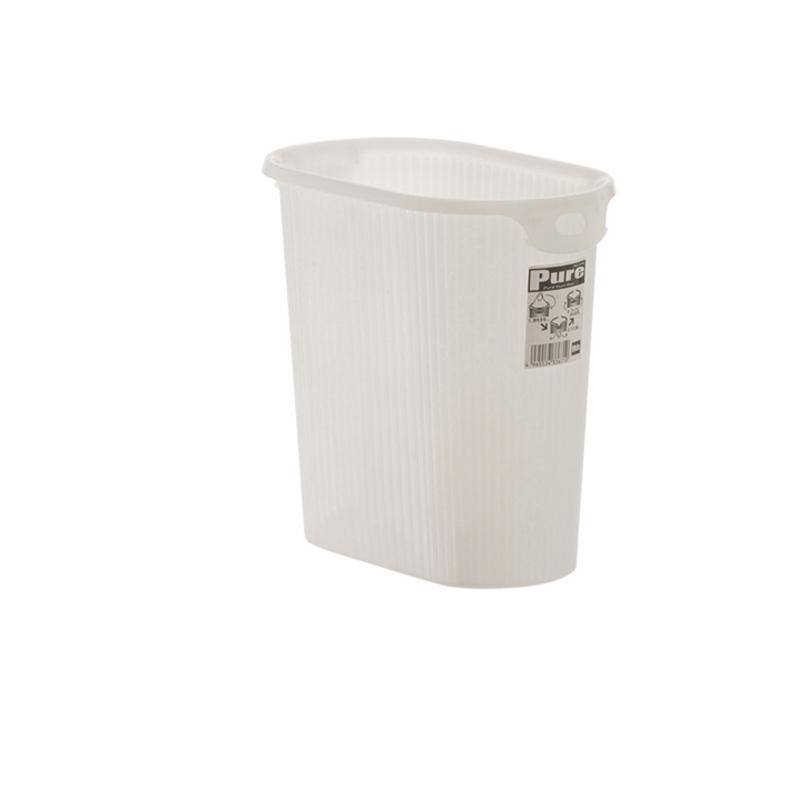YAMADA日本除尘桶白色塑料垃圾桶