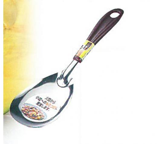 ECHO日本 不鏽鋼大勺24.5cm不鏽鋼飯勺