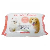 KOMODA日本宠物湿纸巾80P(2011)