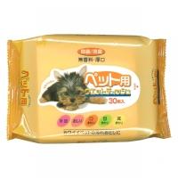 KOMODA日本宠物湿纸巾30P(2011)