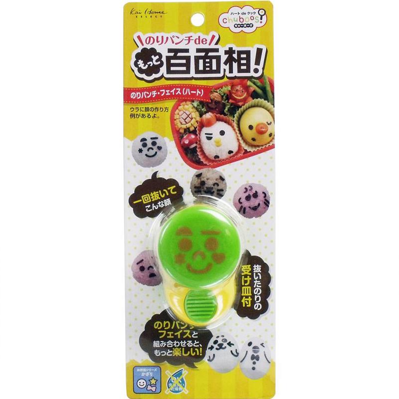 KAI日本 膠打孔(可愛得笑臉,心  )