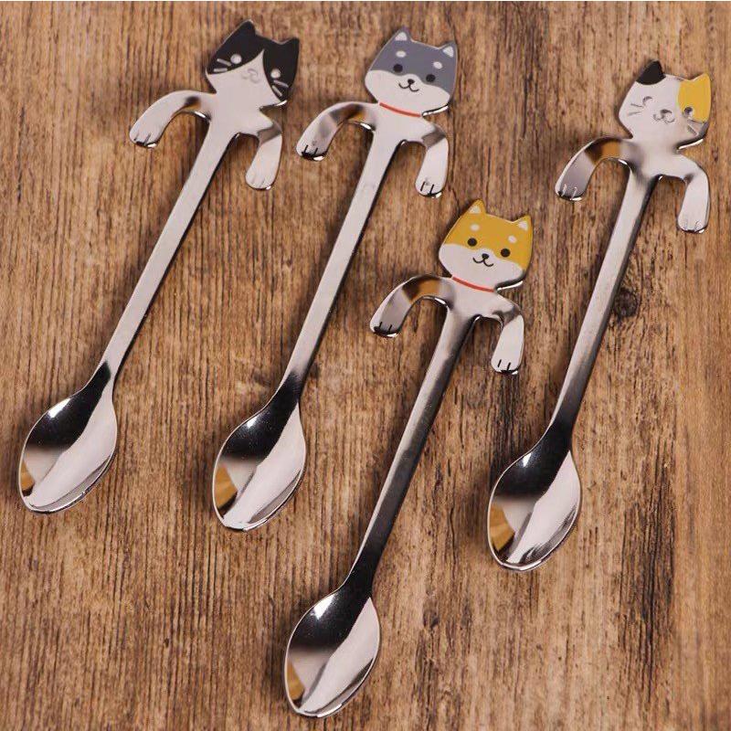 TAKAKUWA日本可愛動物咖啡勺  掛杯勺(2012)