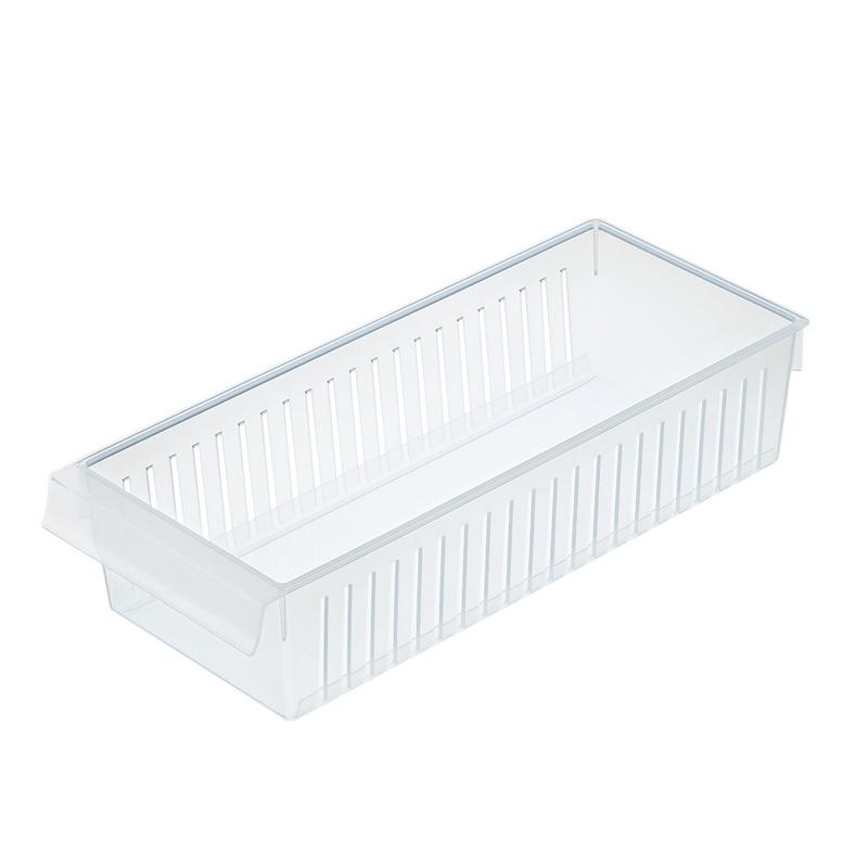 INOMATA日本冰箱收纳筐浅宽型冰箱收纳盒