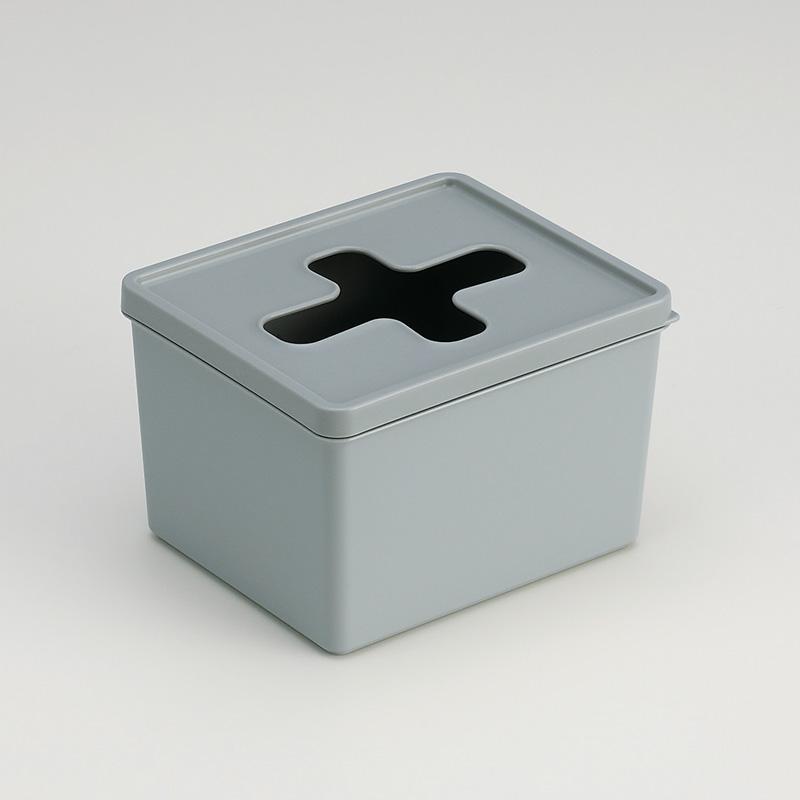 INOMATA日本十字口收纳盒塑料收纳盒