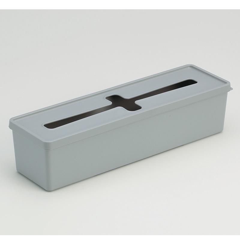 INOMATA日本十字口收纳盒 LL塑料收纳盒