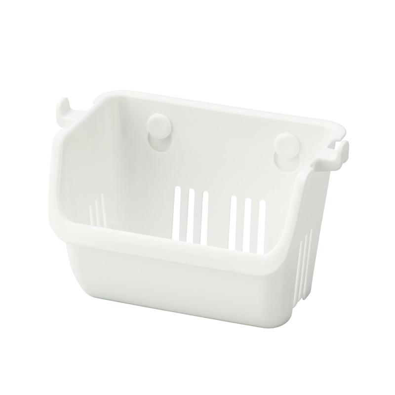 INOMATA日本小杂物沥水挂篮塑料收纳架