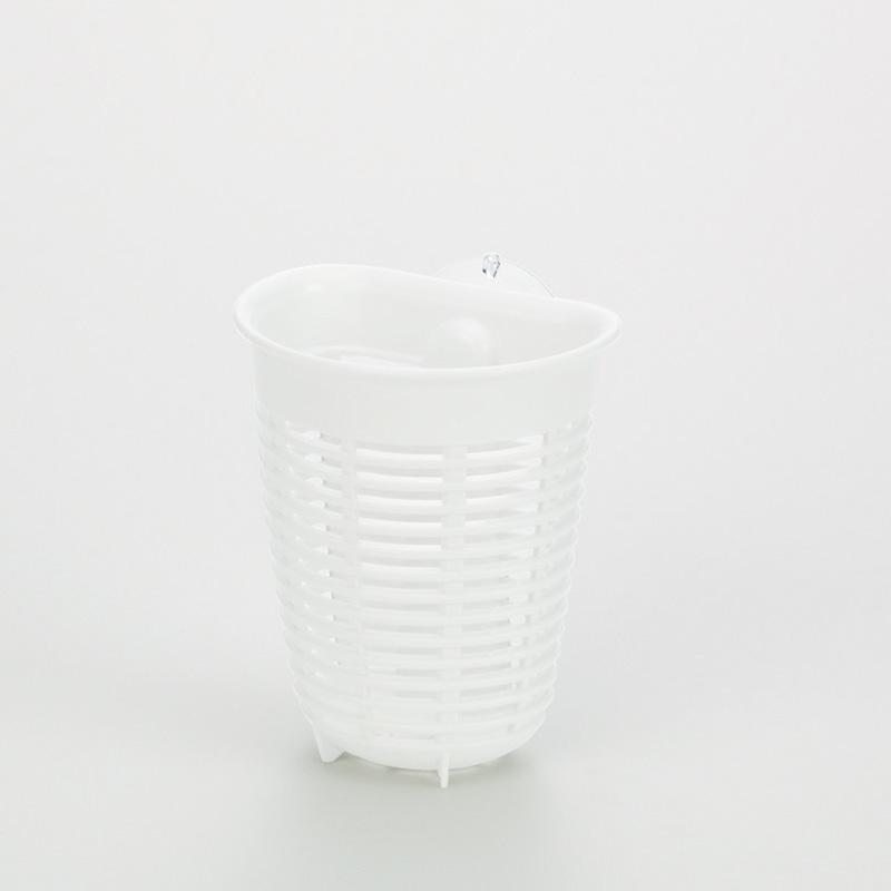 ✪INOMATA日本进口冰箱收纳筐 卫浴小物收纳篮  吸盘式塑料收纳篮