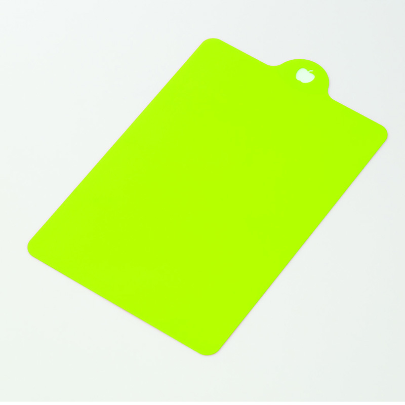 INOMATA日本水果类砧板(绿色)塑料砧板