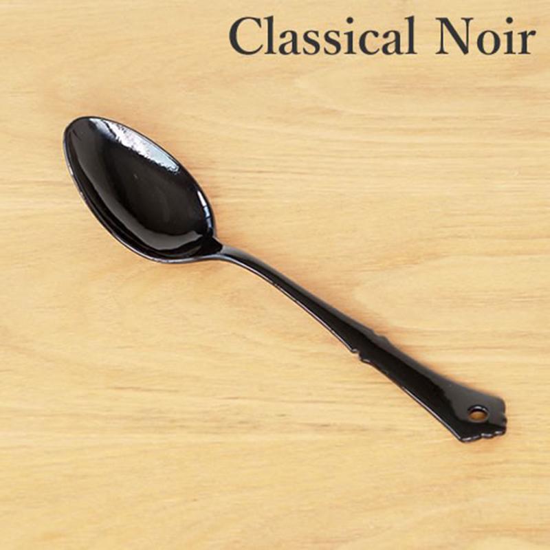 TAKAKUWA日本古典设计珐琅主食叉勺