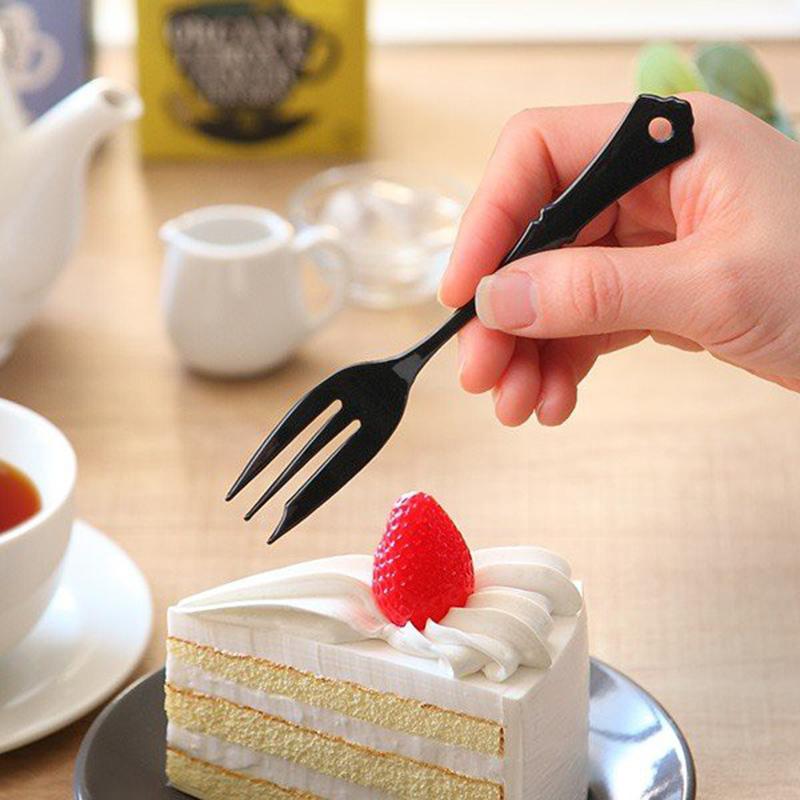 TAKAKUWA日本古典设计珐琅甜点刀叉
