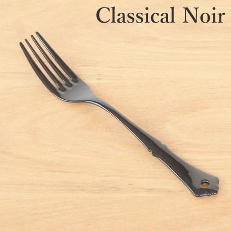 TAKAKUWA日本古典设计珐琅主食叉子