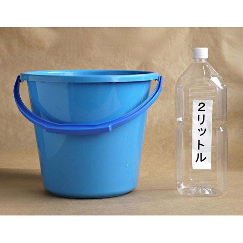 ASAHI日本手提水桶10L蓝色(产品价格有所下调  0402)