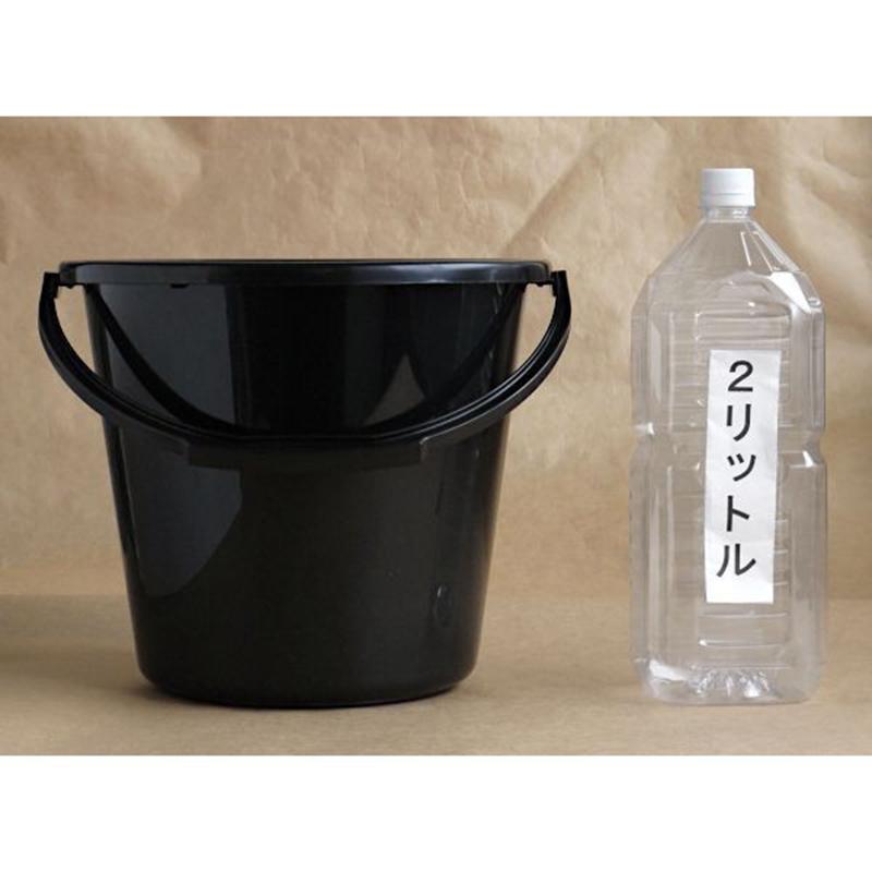 ASAHI日本手提水桶10L黑色