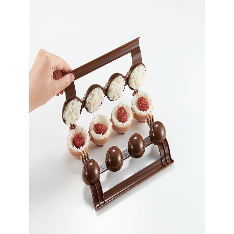 COGIT日本一次可以做4个小饭团的模具