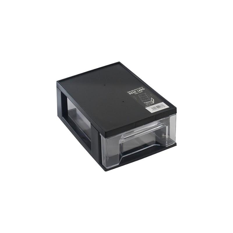 YAMADA日本DESKLABO系列  多功能收纳盒 M灰黑