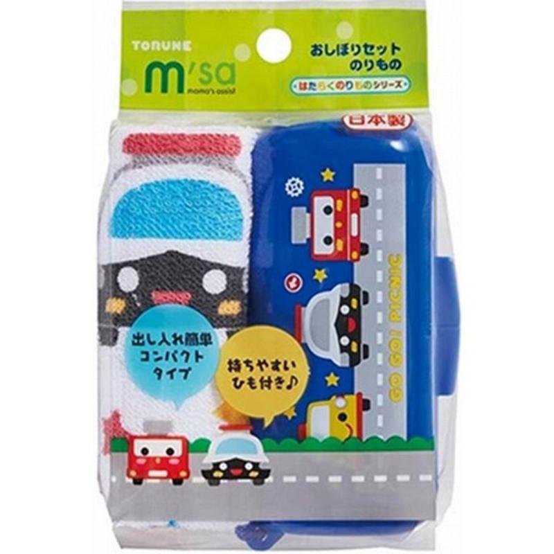 TORUNE日本儿童车类便携毛巾装 1筒1毛巾