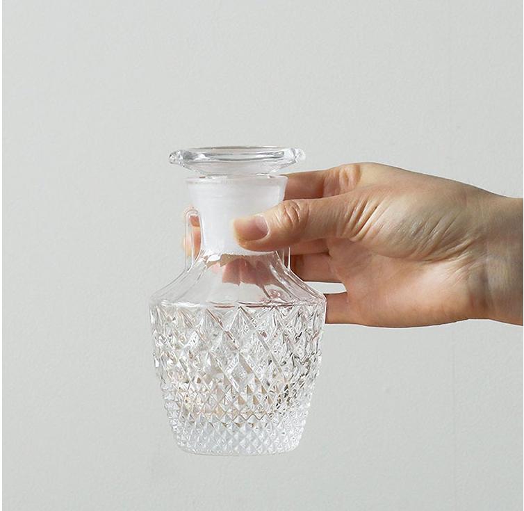 Aderia日本玻璃工匠手工制作酱油瓶   65ML