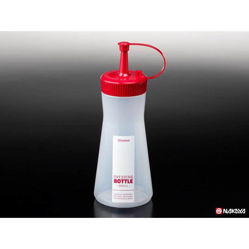 NAKAYA日本调味料瓶 红色  白色  单色 350ML