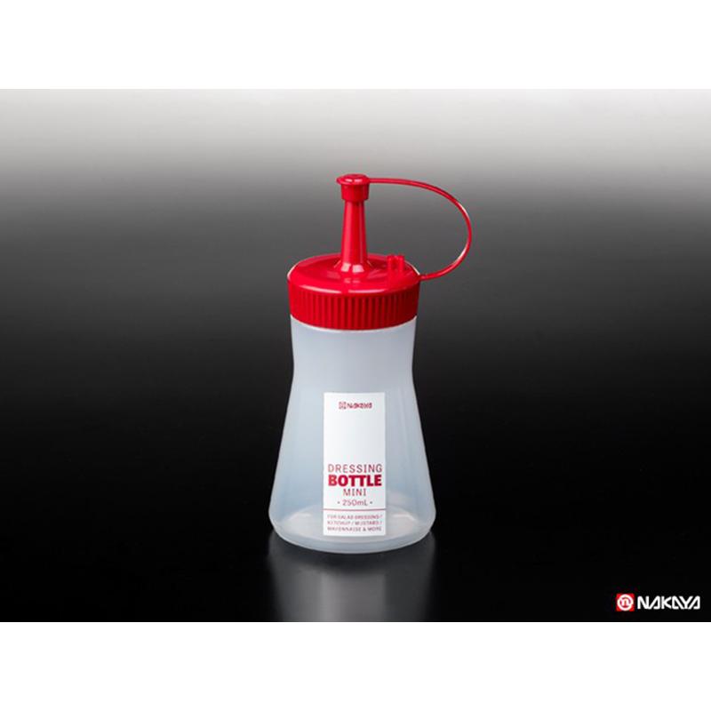 NAKAYA日本调味料瓶 红色  白色单色 250ML
