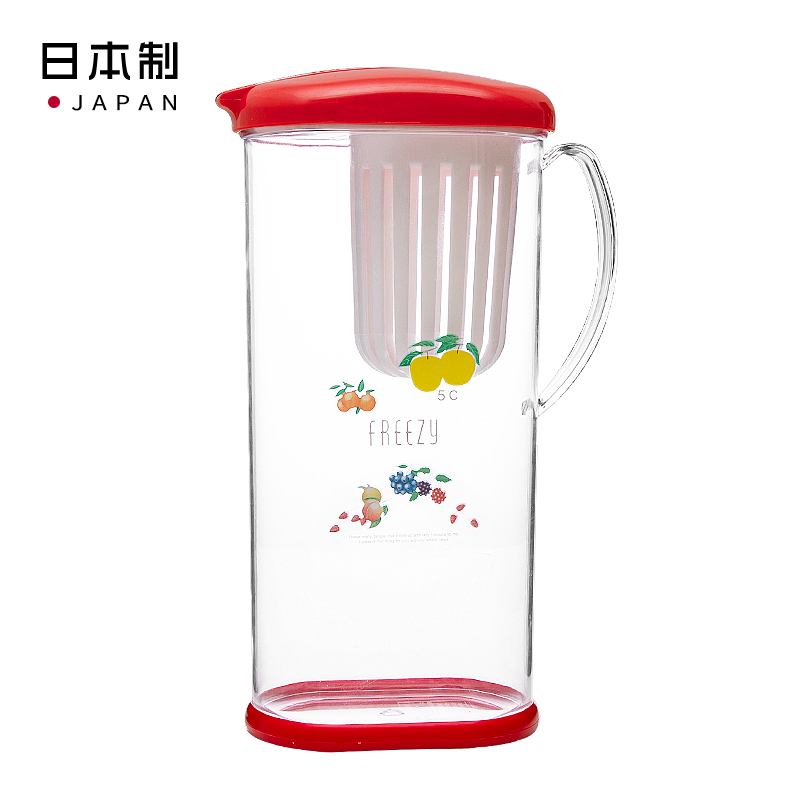 Ishimaru日本外包装得会变色得苹果 可以告知水温度的水壶2.2L