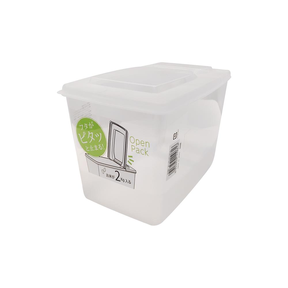 NAKAYA日本进口密封米桶米箱 杂粮桶   半开式 3000ml